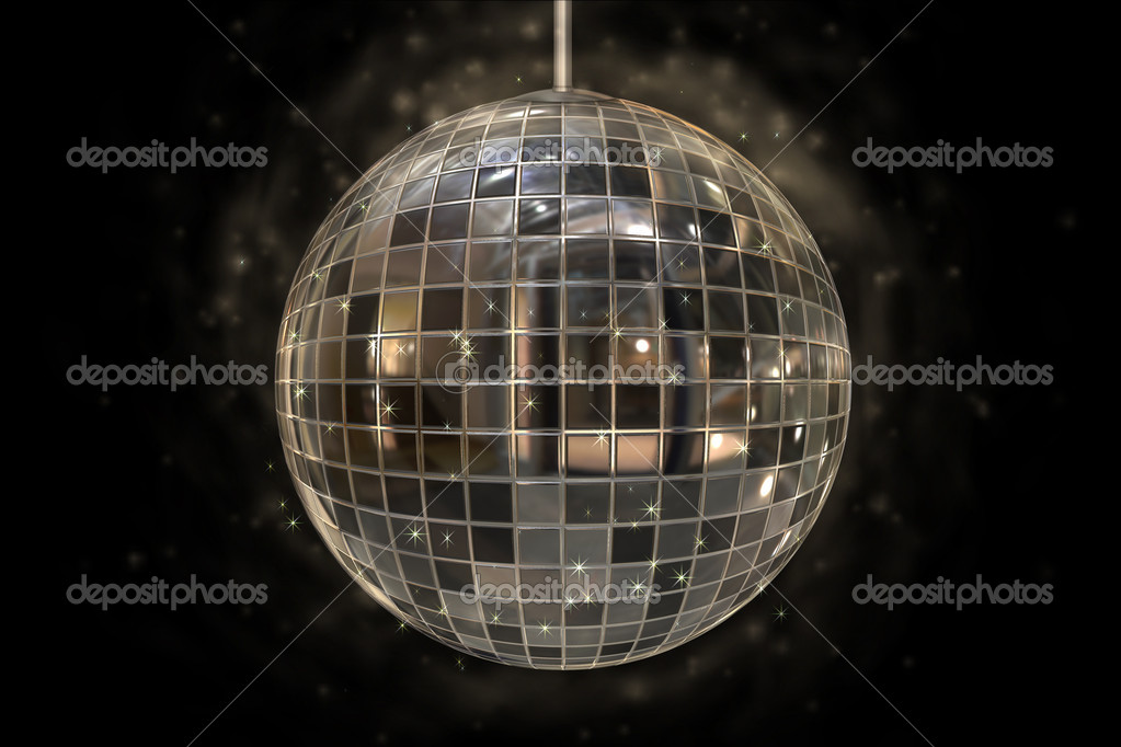Mirror disco ball — Stock Photo #12604438