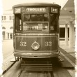 Antique trolley - Stock Photo