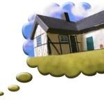 Dreams house thinking — Stock Photo