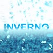 Inverno (Text serie) — Stock Photo