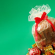 Stock Photo: Holliday food - Panettone