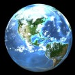 Earth (3D) — Stock Photo