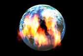 Global warming concept — Foto de Stock