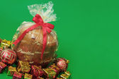 Holliday food - Panettone — Stock Photo