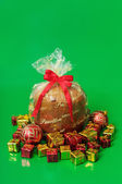 Christmas food - Panettone — Foto de Stock