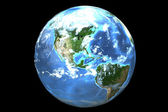 Earth (3D) — Stock Photo