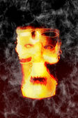 Scary mask — Stock Photo