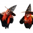 Witch sorcery and wrong spell — Stock Photo #13611942
