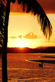 End of the day in Bahia - Brazil. — Stock Photo