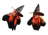 Witch sorcery and wrong spell — Stock Photo