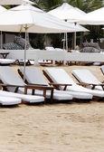 海滩休息区 — 图库照片