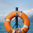 Stock Photo: Hung Life buoy