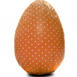 Orange wrapped Easter Egg — Stok Fotoğraf #13748707