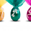 Chocolate Easter Eggs — Stock Photo