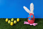 Easter field — Stock fotografie