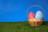 Easter field — Stockfoto