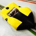 Electric slot car — Stock Photo