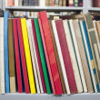 Foto Stock: Books on a shelf
