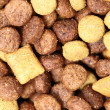 Stock Photo: Macro dog food (Texture)