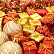Christmas ornaments close-up — Stock Photo