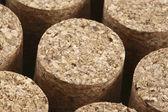 Corks closeup — Stock Photo