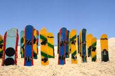 Tableros de arena coloreadas — Foto de Stock