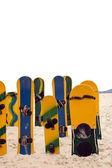 Grupo de sandboards — Foto de Stock