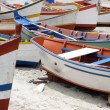 Colorful fishing boats - Stock Photo