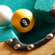 Playing pool — Lizenzfreies Foto