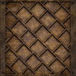 Metal plate cover (Seamless texture) - Stock Photo