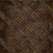 Rusty manhole cover (Seamless texture) — Stock Photo
