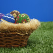 Stock Photo: Easter basket