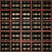 Rusty grate (Seamless texture) — Stock Photo
