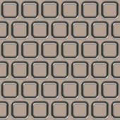Metal wall fiction (Seamless texture) — Stock Photo