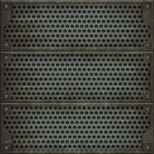 Metal cover (Seamless texture) — Stock Photo