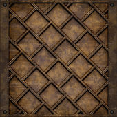 Metal plate cover (Seamless texture) — Stock Photo