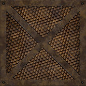 Manhole cover (Seamless texture) — Stock Photo