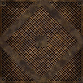Manhole cover (Seamless texture) — Foto Stock
