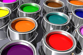 Colorful inks — Stock Photo