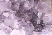 Amethyst rock close — Stock Photo