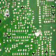 Stock Photo: Circuit board solders