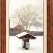 Gallery serie - Snowing day — Stock Photo #20383279