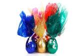 Grupo de huevos de pascua — Foto de Stock