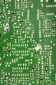 Circuit board solders — Stock Photo