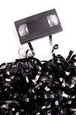 Nefunkční video pásku — Stock fotografie