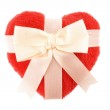 Bow and Heart — Stock Photo