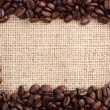 Coffee beans as frame — Stock Photo #22225085