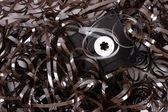 Broken cassette — Stock Photo