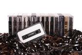 Dostosowane do kasety audio — Zdjęcie stockowe