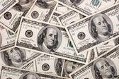 Hundred bills — Stock Photo